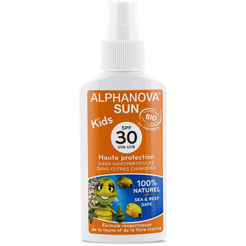 Alphanova Opalovací krém pro děti ve spreji SPF 30 125 g