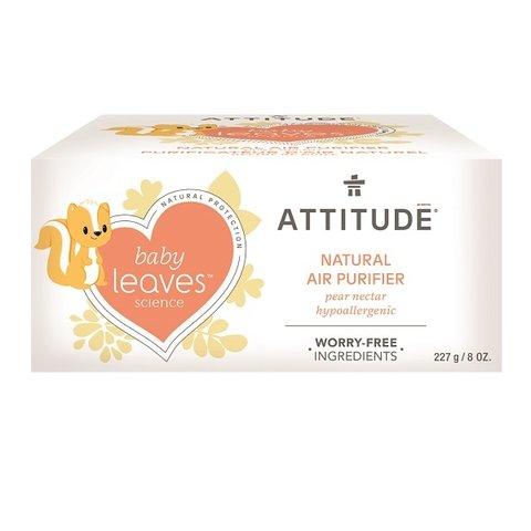 Attitude Baby leaves Přírodní čistící osvěžovač vzduchu s vůní hruškové šťávy 227 g