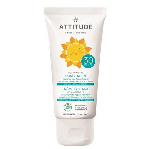 Attitude Dětský opalovací krém SPF30 75 g