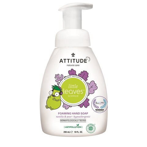 Attitude Little Leaves Dětské pěnivé mýdlo na ruce vanilka 295 ml