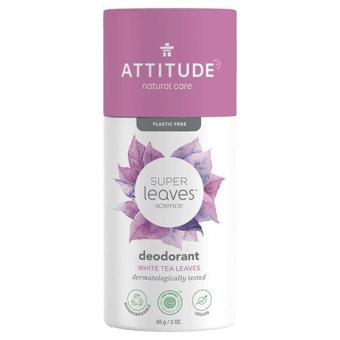 ATTITUDE Super leaves Přírodní tuhý deodorant listy bílého čaje 85 g