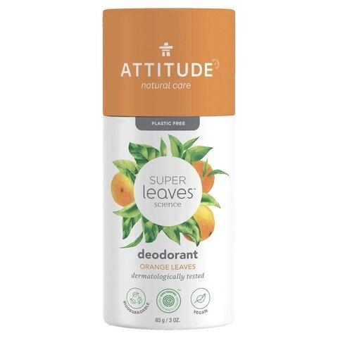 ATTITUDE Super leaves Přírodní tuhý deodorant pomerančové listy 85 g