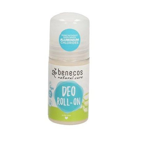 Benecos BIO, VEG Deo Roll-On deodorant aloe vera 50 ml