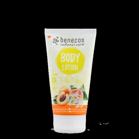 Benecos BIO, VEG Tělové mléko meruňka a bezinkový květ 150 ml
