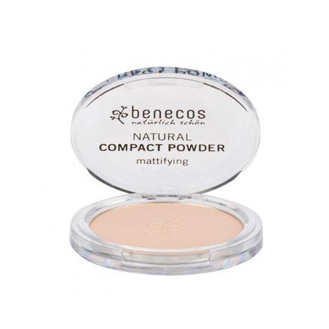 Benecos Kompaktní pudr - porcelain BIO, VEG