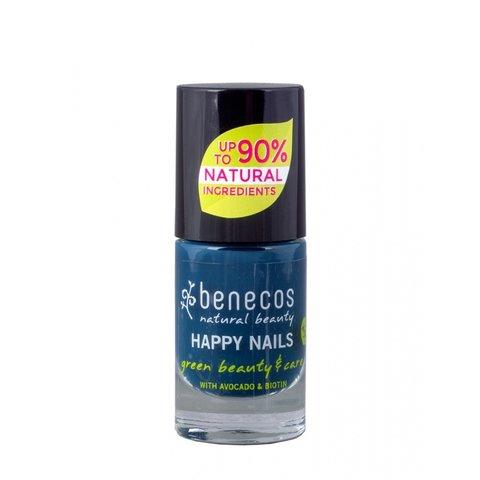 Benecos Lak na nehty Nordic Blue 8 free 5 ml