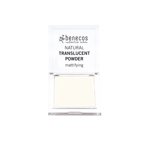 Benecos Transparentní pudr BIO, VEG