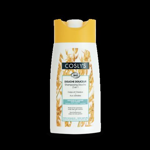Coslys 2v1 Sprchový šampon bez mýdla obilí BIO 250 ml