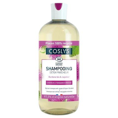Coslys Šampon pro mastné vlasy lopuch a jujuba 500 ml