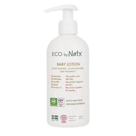 Dětské ECO tělové mléko Naty 200 ml