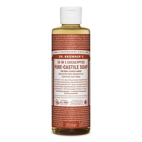 Dr. Bronner's Tekuté universální mýdlo ALL-ONE! Eukalyptus 240 ml