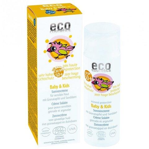 Eco cosmetics BIO Baby Dětský opalovací krém SPF 50+ 50 ml
