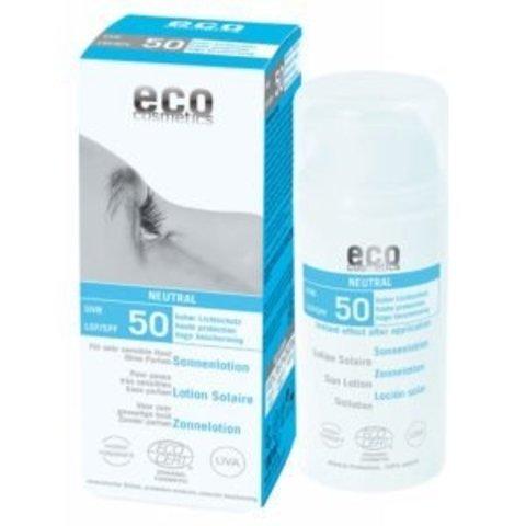Eco cosmetics BIO Opalovací krém Neutral bez parfemace SPF 50100 ml