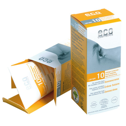Eco cosmetics BIO Opalovací krém SPF 1075 ml
