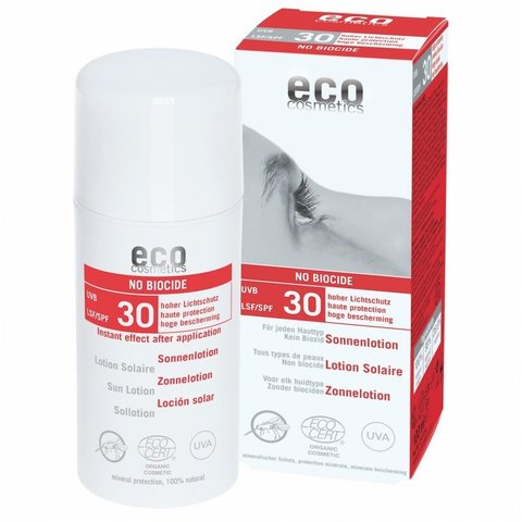 Eco cosmetics BIO Opalovací krém SPF 30s repelentem 100 ml