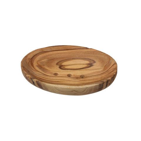 Ecodis Mýdlenka z olivového dřeva oválná