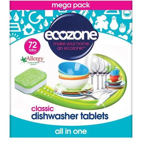 Ecozone tablety do myčky Classic 72 ks