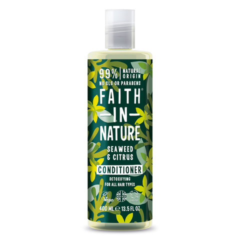Faith in Nature kondicioner s mořskou řasou 400 ml
