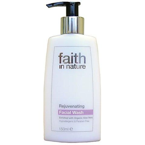 Faith in Nature omlazující mycí emulze na obličej 150 ml