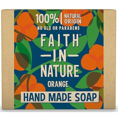 Faith in Nature rostlinné tuhé mýdlo pomeranč 100 g