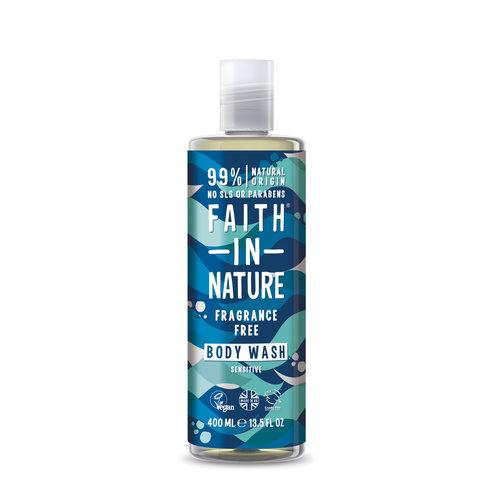 Faith in Nature sprchový gel bez parfemace hypoalergenní 400 ml