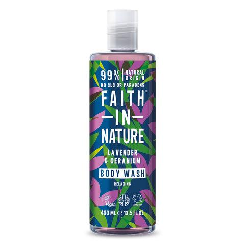 Faith in Nature sprchový gel Levandule 400 ml