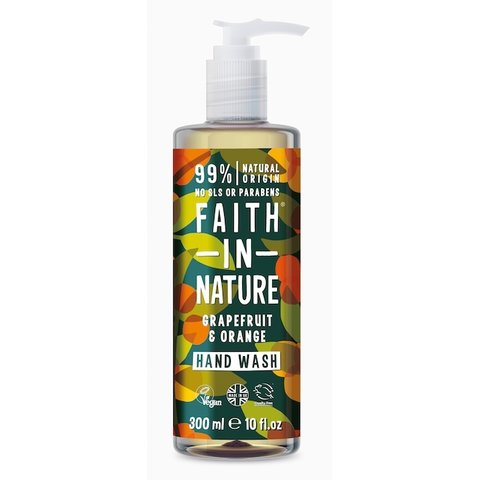 Faith in Nature tekuté mýdlo Grep/Pomeranč 300 ml