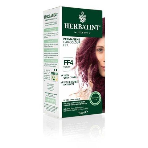 Herbatint Permanentní barva na vlasy fialová FF4