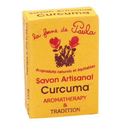 La Fermé de Paula Ajurvédské mýdlo Kurkuma 75 g
