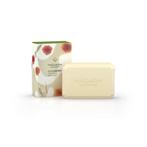 Mádara Tělové mýdlo ostružiník moruška a ovesné mléko 150 g