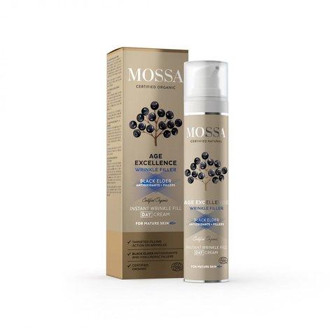 Mossa Age Excellence Denní krém pro okamžitou výplň vrásek 50 ml