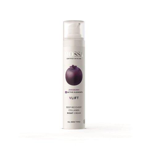 Mossa Noční krém pro obnovu kolagenu V-Lift 50 ml
