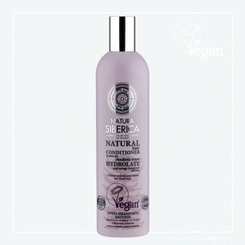 Natura Siberica Balzám pro barvené vlasy Oživení a lesk 400 ml
