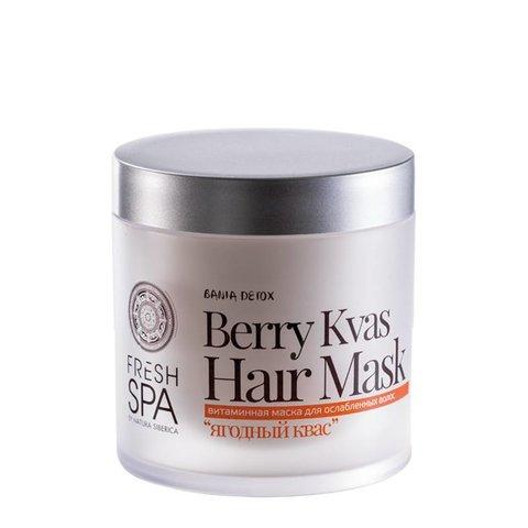 Natura Siberica Fresh Spa Bania Detox Vitaminová maska pro oslabené vlasy 400 ml