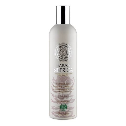 Natura Siberica Kondicionér pro unavené a slabé vlasy Ochrana a energie 400 ml