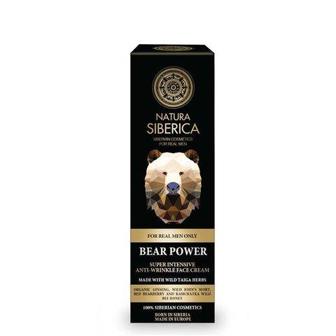 Natura Siberica Men Intenzivní krém proti vráskám Medvědí síla 50 ml