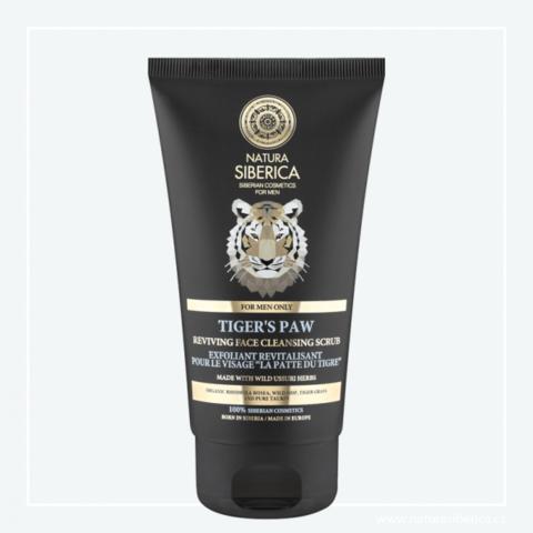 Natura Siberica Men Revitalizační čistící peeling Tygří tlapa 150 ml