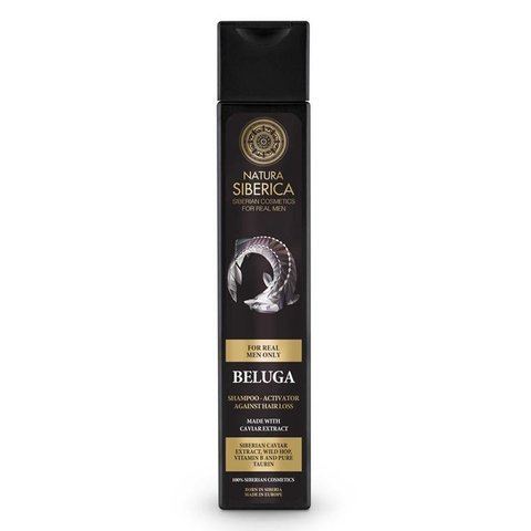Natura Siberica Men Šampon pro růst vlasů Beluga 250 ml