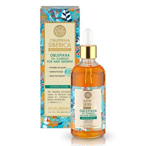 Natura Siberica Oblepikha Siberica Professional Rakytníkový olej pro růst vlasů 100 ml