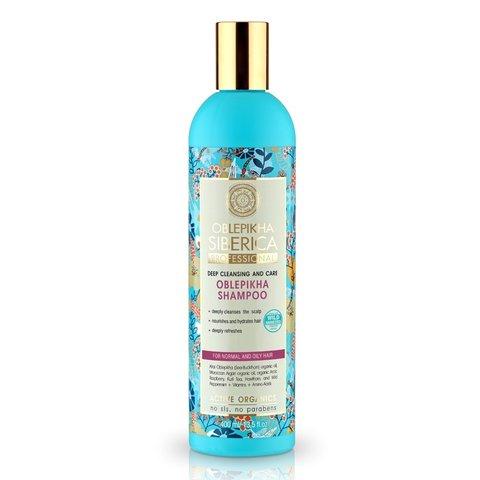 Natura Siberica Oblepikha Siberica Professional Rakytníkový šampón pro normální a mastné vlasy 400 ml