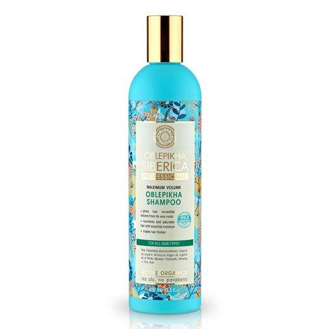Natura Siberica Oblepikha Siberica Professional Rakytníkový šampón pro všechny typy vlasů 400 ml