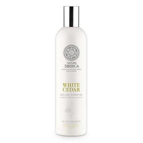 Natura Siberica Šampon pro větší objem Bílý cedr 400 ml