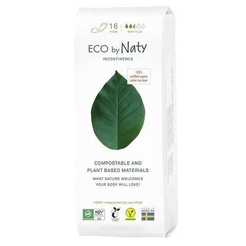 Naty Dámské ECO inkontinenční vložky mini plus 16 ks