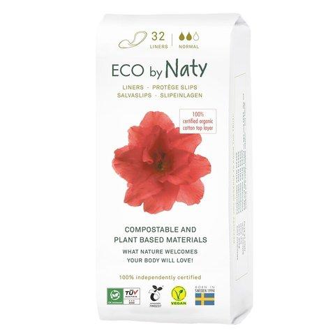 Naty Dámské ECO slipové vložky normal 32 ks
