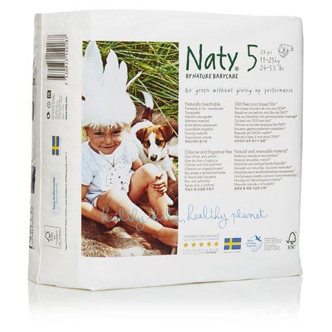 Naty Plenky 5 Junior 11-25 kg 23 ks