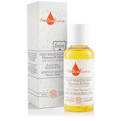 NeBiolina Masážní olej pro miminka i maminky 100 ml