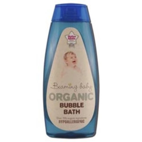 Organická dětská pěna do koupele Beaming baby 250 ml