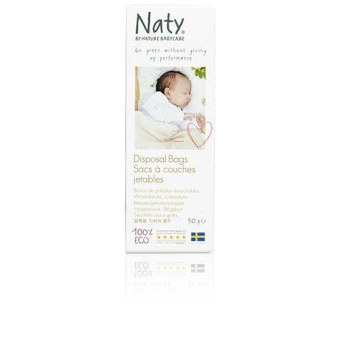Sáčky na použité plenky bez vůně Eco by Naty (50 ks)