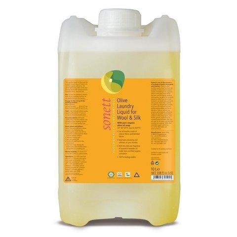 SONETT Olivový prací gel na vlnu a hedvábí 10 l