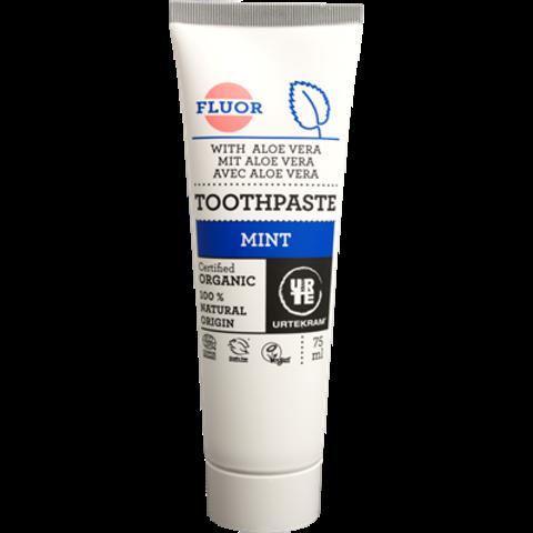 Urtekram BIO Zubní pasta máta s fluorem 75 ml